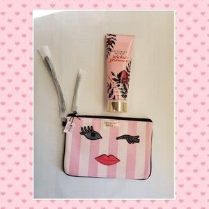 Victoria's Secret Wristlet and Fragrance Lotion
